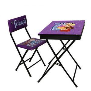 میز تحریر آریا طرح دار باکس دار طرح فرندز