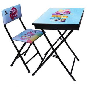 میز تحریر آریا طرح دار باکس دار طرح پونی